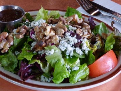 Blue Cheese and Walnut Salad at The Shed.