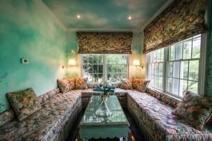Sun room at Maison Marcel.