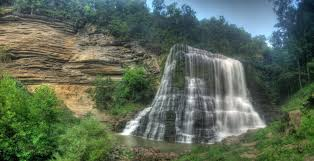 Burgess Falls by Chuck Sutherland