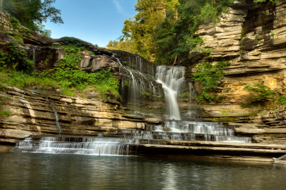 Cummins Falls by Chuck Sutherland